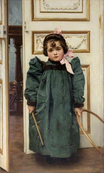 FERRIER Gabriel (1847-1914) Odette Ferrier...