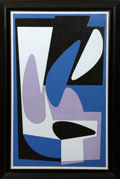 VASARELY Victor (1906-1997) Siget. Composition...