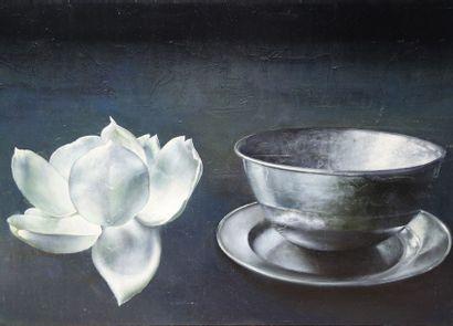 ROSENTHAL Clément (né en 1956).  Lotus et...