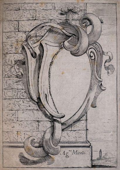 MITELLI (Agostino, 1609-1660). Suite de 15...