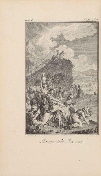 [Bible illustrée. Français. 1789-1804]. La...