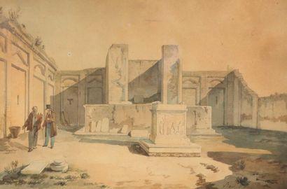 Achille VIANELLI (1803-1894). Personnages...