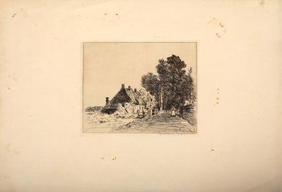 Johan-Barthold JONGKIND (1819-1891). La nourrice...
