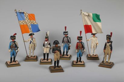 FOUILLÉ, Grenadier du 1er régiment des grenadiers...