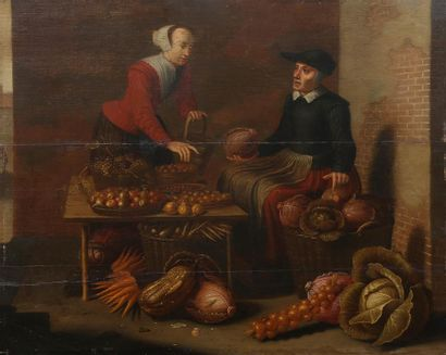 Attribué à Floris Van SCHOOTEN (vers 1590-1655)....