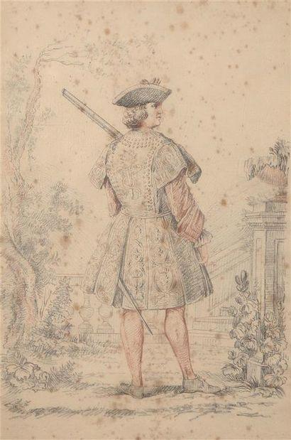 Attribué à Robert BONNART (1652-1729). Garde...