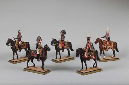 FOUILLÉ, Premier Empire, Général de cuirassier...