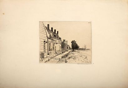 Johan-Barthold JONGKIND (1819-1891). Le Canal....