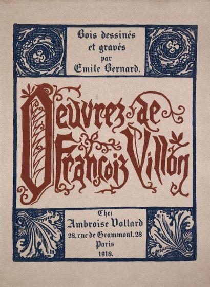 BERNARD. VILLON (François). Œuvres de Maistre...