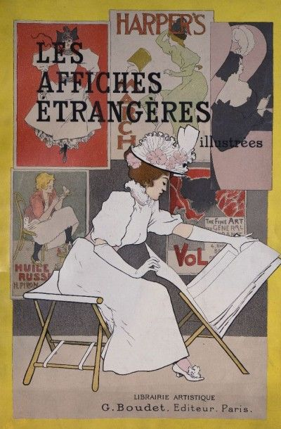 [Les Affiches Étrangères Illustrées]. BAUWENS....