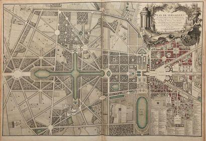 DELAGRIVE (abbé Jean). Environs de Paris, levés géométriquement. Dédiés à M. le...