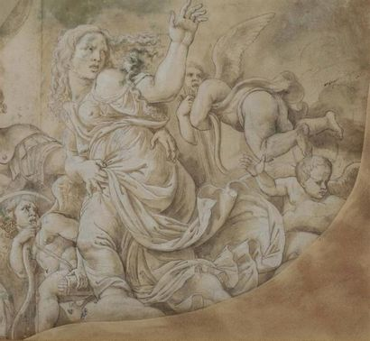 Attribué à Giulio ROMANO (Rome 1499-1546)....