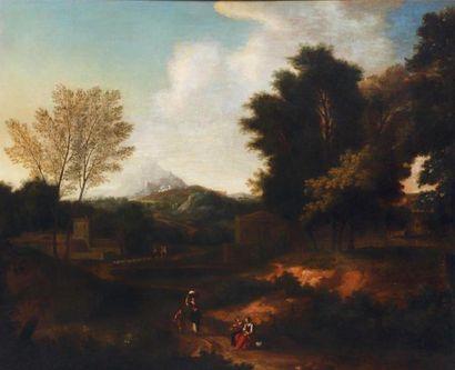 École FRANÇAISE vers 1700, suiveur de Gaspard...