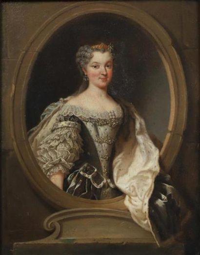 Attribué à Jean-Baptiste VAN LOO (1684 -...