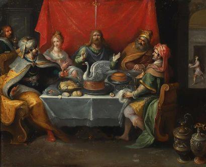 Frans II FRANCKEN (Anvers 1581-1642) et atelier....