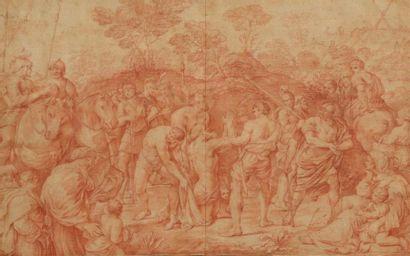 École ITALIENNE du XVIIIe siècle, d'après...