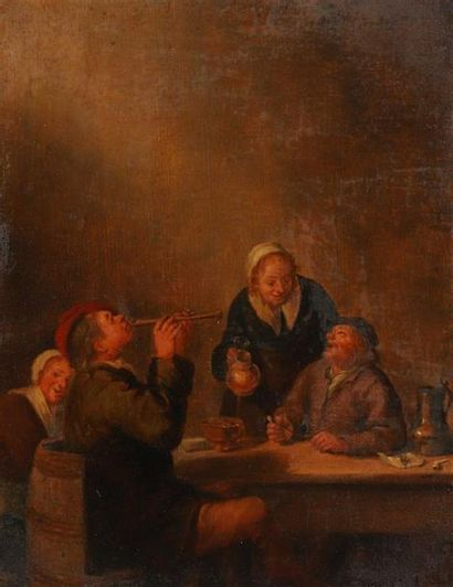 Attribué à Bartholomeus MOLENAER (? - 1650)....