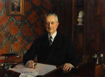 Pierre-Dié MALLET (1895-1976) Portrait de...
