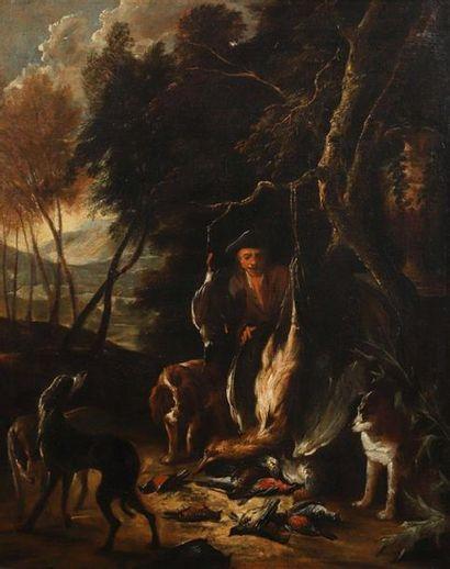 NON VENU///Adriaen de GRYEFF (Leyde 1670...
