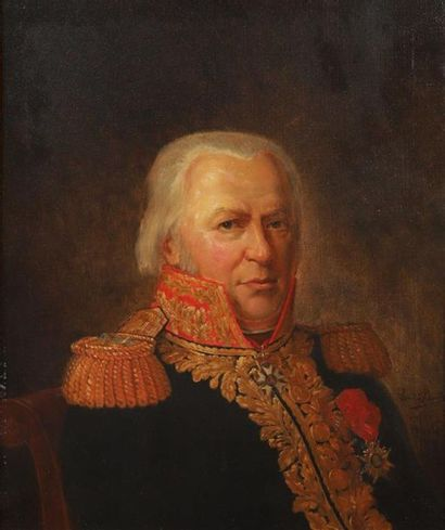 Louis BLANCAT. Portrait en buste du Général...
