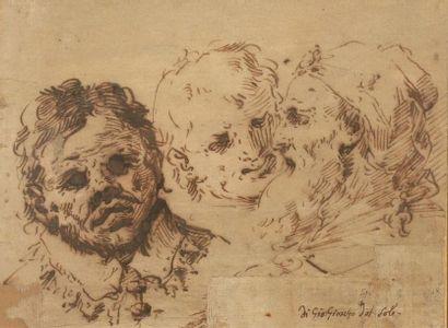 Attribué à Giovanni Gioseffo dal SOLE (Bologne...