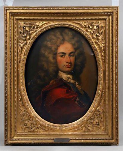 École d'ITALIE du NORD vers 1700. Portrait...