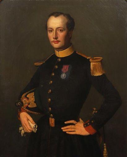 Ecole FRANCAISE du XIXème siècle, Portrait...