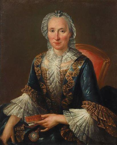 Ecole FRANCAISE vers 1760, entourage de François...