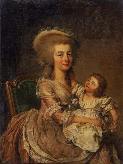 Attribué à Adolf Ulrik WERTMULLER (1751-1811)....