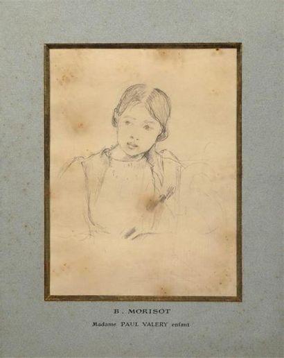 Berthe MORISOT (Bourges 1841 - Paris 1895)....