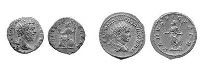 ALBIN (193-195). Denier. Rome. Tête nue à...