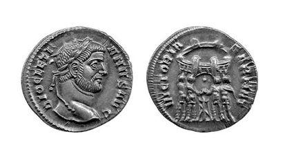 DIOCLETIEN (284-305). Argenteus. Rome. (c....