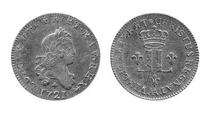 LOUIS XV (1715-1774). Louis aux 2 L. Metz....