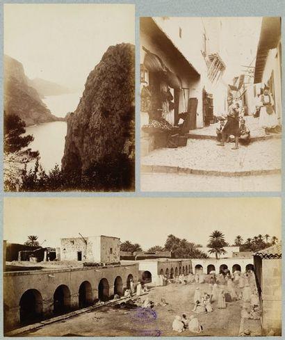 Algérie, 1882. Alger, Blida, Bougie, Biskra,...
