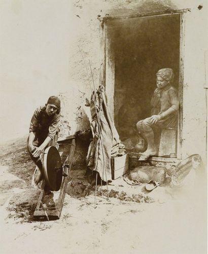 Tunisie, c. 1880. Types ethnographiques et...