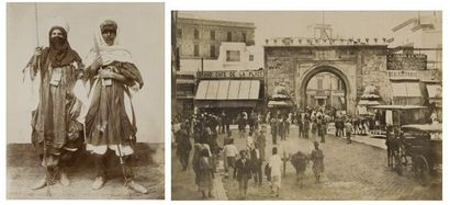 France et Tunisie, c. 1890-1900. Chalons...