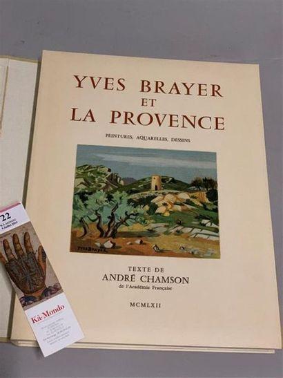 [BRAYER]. CHAMSON (André). Yves Brayer et...
