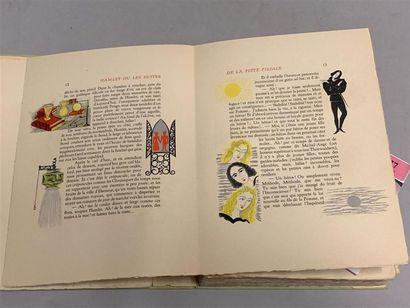 * SCHMIED. LAFORGUE (Jules). Moralités légendaires. Paris, Blaizot, 1946. Grand...