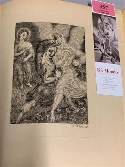 * POUCHKINE. La gabrielide. 5 gravures sur cuivre par Wiralt. Paris, Edition du...