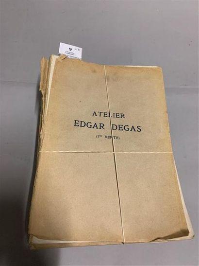[DEGAS (Edgar)]. Ensemble de 8 vol. in-4...