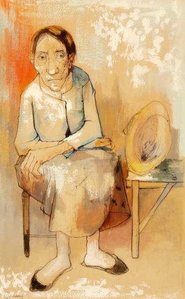 NON VENU /// D'après Jean JANSEM (1920-2013)...