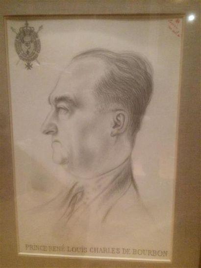 Henri MAHE (1907-1975). Profil gauche du...