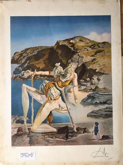 Salvador DALI (1904-1989), d'après. Sex appeal...