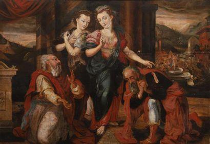 École ANVERSOISE vers 1570, entourage de...