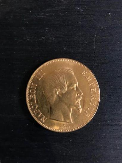 NON VENU///FRANCE : 1 x 100 francs or Napoléon...