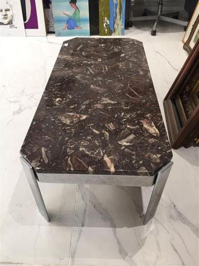 TABLE BASSE de forme rectangulaire structure...