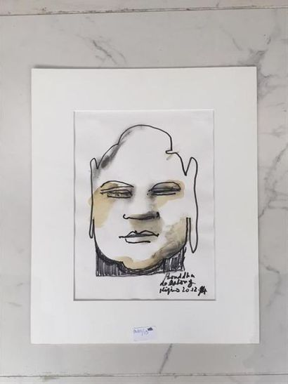 Ladislas KIJNO (1921-2012). Le Bouddha de...