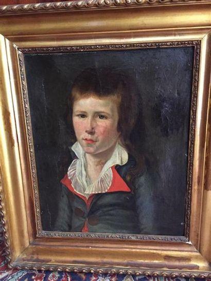 Ecole FRANCAISE du XVIIIe siècle. Portrait...