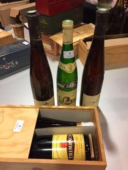 LOT de 5 bouteilles comprenant : -2 bouteilles...