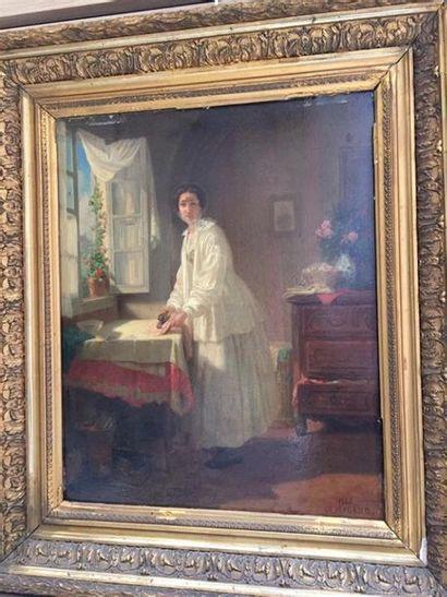 Dominique Antoine MAGAUD (1817-1899). Femme...